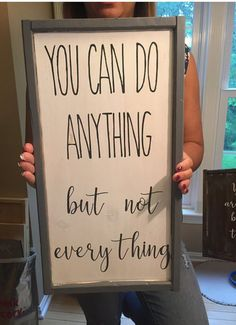 You cant do everything inspirational signs sign with quote inspiring signs Christmas gifts sign for mom home decor guest room signs Decor Do It Yourself Quotes, Do It Yourself Home, Sign Quotes, Me Quotes, Motivational Quotes, Sign Sayings, Framed Quotes, Quotes To Paint, Family Quotes