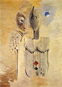 Two sisters - Max Ernst