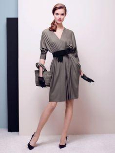 Paule Ka / Grey jersey dress