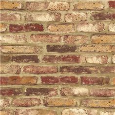 Tuscany Brick Paper 22 99 Erica Faux Wallpaper Kitchen Modern