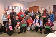A&J continues to restore kindness by packing shoeboxes for underprivileged children around the world
