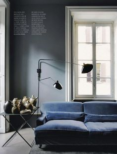 Blue hues