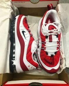 separation shoes 80475 a4500 Nike Air Max 98 Gym Red by blog.sneakerando.com sneakers sneakernews  StreetStyle Kicks adidas nike vans newbalance puma ADIDAS ASICS CONVERSE  DIADORA REEBOK ...
