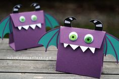 Free SVG (Cut Its) expiring today! Mouthy Monsters Treat Bag | Under A Cherry Tree