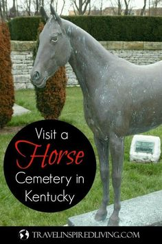 The Hamburg Place Horse Cemetery in Lexington, Kentucky is located minutes from I-75 and a great roadside stop to stretch your legs. This is a unique area attraction, and an unusual place to visit that will be fun to share when telling stories from your U