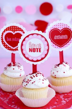 Valentine Love Note Party by Love The Day