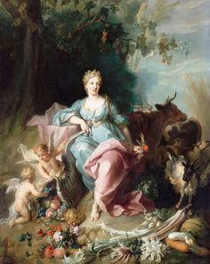 Peinture de Jean-Baptiste Oudry - Abondance