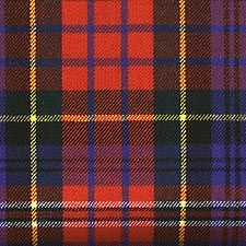 """MacPherson Tartan. (Red Modern) Contrary to what you may have heard, every clan had several different tartan patterns.  One """"Dress"""". One """"Hunting"""". Etc."""