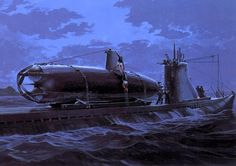 Transporting the Midget Subs for the attack on the KMS Tirpitz