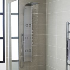 Shop a superb selection of shower panels from Hudson Reed. A great choice of shower panel towers and thermostatic shower towers available online now.