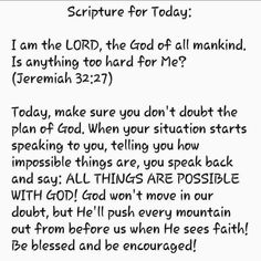 Scripture For Today, Daily Scripture, Bible Verses Quotes, Faith Quotes, Scripture Reading, Prayer Scriptures, Prayer Quotes, Biblical Quotes, Spiritual Quotes