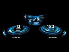 Hyundai HI Future Cluster Concept C (Future) - YouTube