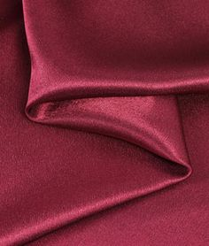 Burgundy Crepe Back Satin Fabric - $3.7 | onlinefabricstore.net