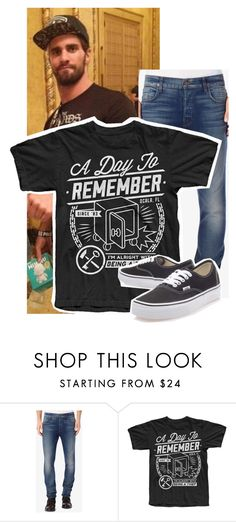 """seth rollins♡"" by cmpunkdeanambrosedbry ❤ liked on Polyvore featuring Hudson Jeans and Vans"