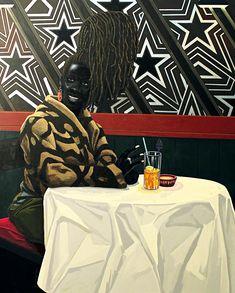 Kerry James Marshall y el cóctel azul – EATING ARTS African American Artist, American Artists, African Art, Blue Curacao, Famous Black Artists, Harlem Renaissance Artists, Birmingham Museum Of Art, Appropriation Art, Chicago Artists