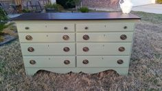 Nantucket green chalked style by General finishes