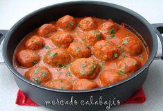 Albóndigas con salsa chipotle   Mercado Calabajío   Blog de cocina con recetas paso a paso