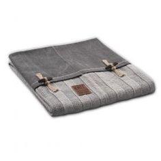 Plaid rib Knit Factory Knit Factory Woonaccessoires