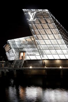 Louis Vuitton Store by garysteele30, via Flickr