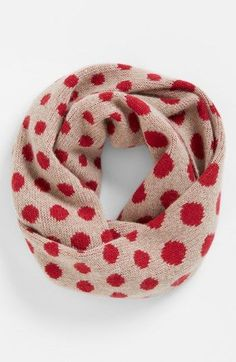 Nordstrom Dot Cashmere Infinity Scarf | Nordstrom