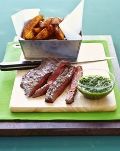 steak with crispy garlic potatoes martha stewart recipes grilled steak ...