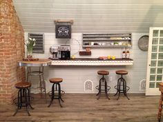 The Magnolia Mom - Joanna Gaines Farmhouse coffee bar