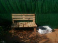 Banquito para terraza... mi 4º creacion!