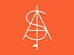 S+A: Surf + Abide logo concept || Jody Worthington