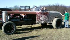 American Rat Rod Cars & Trucks For Sale: Very Large Monster Rat Rod With 2 Engines