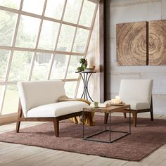 Madison Park Kari Slant Back Wood Settee (10.535 CZK) ❤ liked on Polyvore featuring home, furniture, sofas, mid century modern sofa, madison park furniture, mid century modern couch, timber furniture and mid century sofa