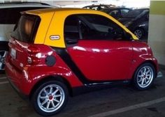 Little Tikes car for grown ups.