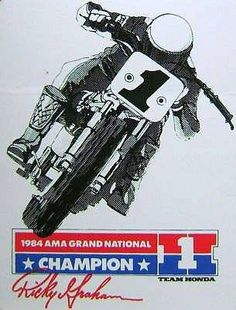 Graham #1 1984 need more flat track