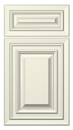 White Kitchen Cabinet Door tuscany door style :: painted :: antique white #kitchen #cabinets