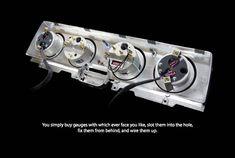 Custom Gauges, Classic Instruments, 68 impala, Installation, lowrider Lowrider, Impala, Chrome Plating, Custom Cars, Gauges, Convertible, Instruments, Classic, Stuff To Buy