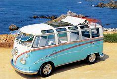 Volkswagen Sky Blue Kombi