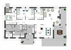 Tutustu Meidän talon asuntomessuoppaaseen. Täältä löydät esittelyt ja tekniset tiedot Seinäjoen asuntomessujen pientalokohteista 17–30. Humble Abode, House Floor Plans, My Dream Home, Building A House, Construction, Layout, Exterior, Flooring, How To Plan