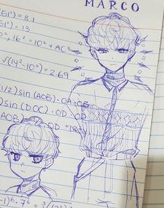 Credits to the artist 💜 Manga Art, Anime Art, Chibi, Arte Sketchbook, Cute Art Styles, Art Et Illustration, Art Reference Poses, Anime Sketch, Character Drawing