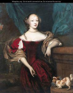 22 августа. Portrait of a lady - (after) Jan De Baen