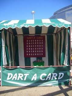 ES Promotions - Darts Stall Hire | Fun Fair Darts Side Stall Hire - UK