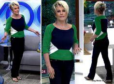 moda do programa Mais Você - look da Ana Maria Braga dia 26 de maio