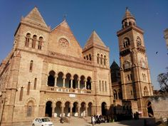 The Prag Mahal is a 19th-century palace located next to the Aina Mahal in #Bhuj, Gujarat, #India. The #palace was designed by Colonel Henry Saint Wilkins in the #Italian Gothic style, and many Italian #artisans were involved in its construction. #attractions #perfectdestination #wanderlust #gujaratdiaries #travelawesome #history #historicalplaces