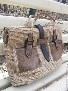 """New Cheap Bags. The location where building and construction meets style, beaded crochet is the act of using beads to decorate crocheted products. """"Crochet"""" is derived fro Crochet Shell Stitch, Crochet Tote, Crochet Handbags, Crochet Purses, Bag Sewing, Macrame Bag, Purse Patterns, Knitting Patterns, Crochet Patterns"""
