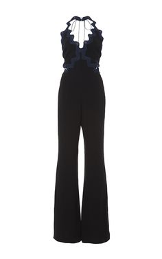 Scallop Crepe Jumpsuit by Jonathan Simkhai Bar Outfits, Stage Outfits, Chic Outfits, Vegas Outfits, Night Outfits, 21st Birthday Outfits, Birthday Dresses, Kpop Fashion Outfits, Woman Outfits