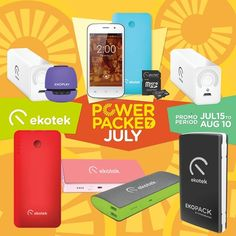 It's A Power Packed July over at Ekotek