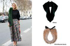 Estolas y guantes para invitadas de invierno » Mi Boda #novias #ideas #inspiración #pasos #imprescindibles #boda #vestidos #invitadas #estolas #guantes