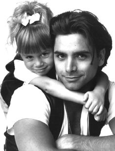 Uncle Jesse and Michelle tanner