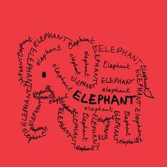 Elephant custom fabric by blue_jacaranda for sale on Spoonflower Image Elephant, Elephant Gun, Elephant World, Elephant Love, Elephant Tattoos, Elephant Quotes, Ganesha, Elefante Hindu, Elephants Never Forget