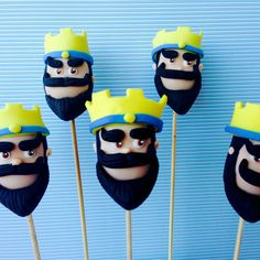 Cakepops clash royale #clashofclans by sugarcuore - sigam instagran e facebook