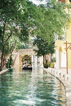 City Canal in Playa del Carmen Mexico. Things To Do in Playa del Carmen Mexico. Places Around The World, Oh The Places You'll Go, Places To Travel, Places To Visit, Mexico Vacation, Mexico Travel, Vacation Spots, Mexico Tourism, Maui Vacation