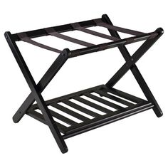 2-Tier Folding Luggage Rack  at Joss and Main